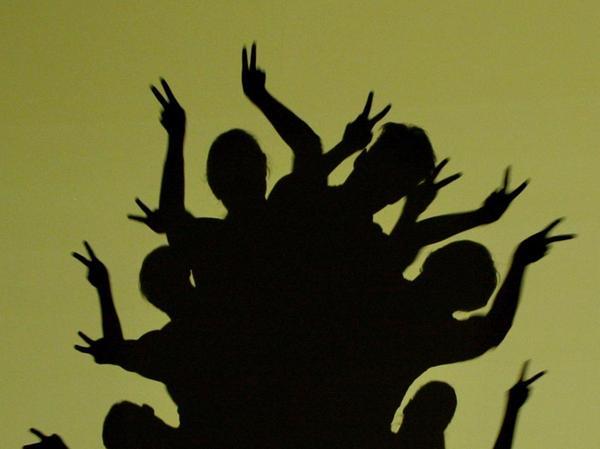 Schatten mit Eigenleben: Die amerikanischen Tänzerinnen und Tänzer zeigten in der Gunzenhäuser Stadthalle eine mitreißende Show.