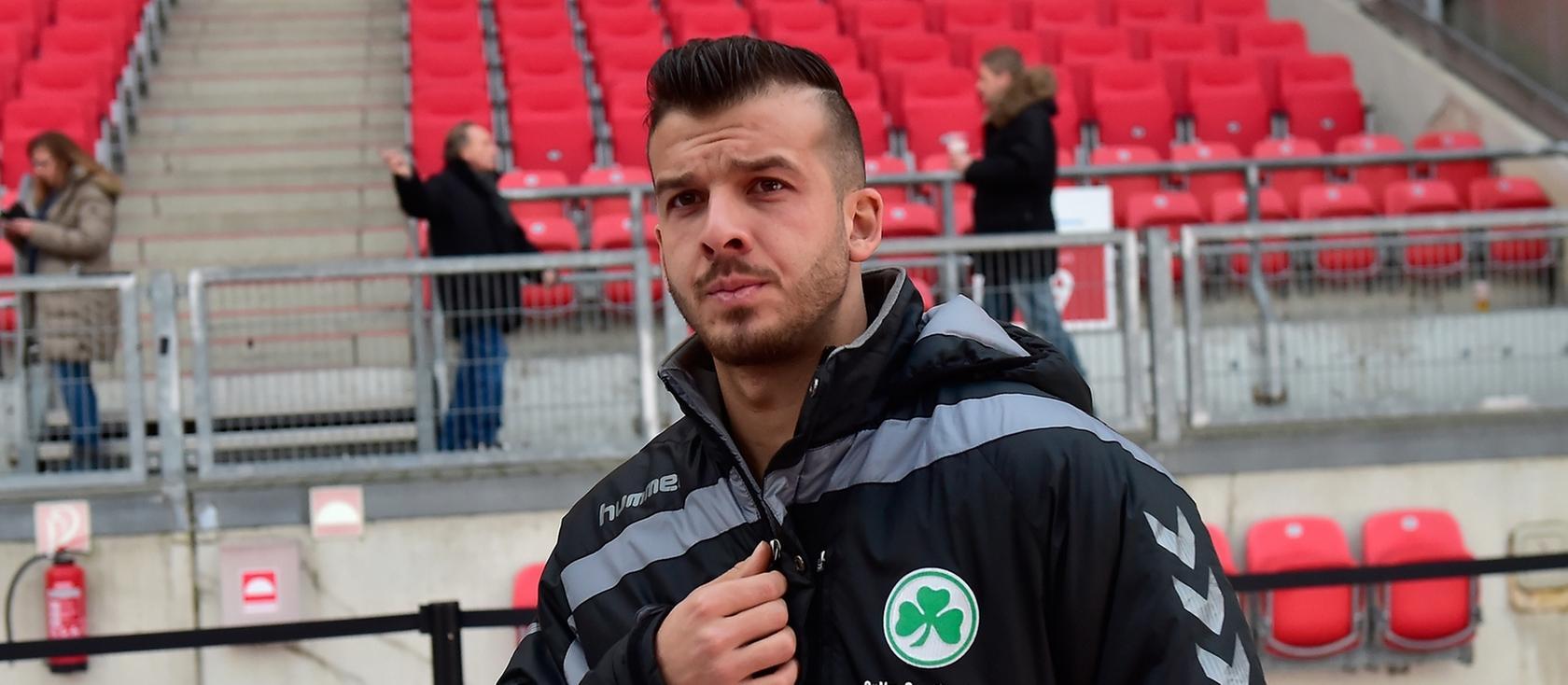 Liegt mit Kopf- und Wirbelsäulenverletzungen im Krankenhaus: Zlatko Tripic.