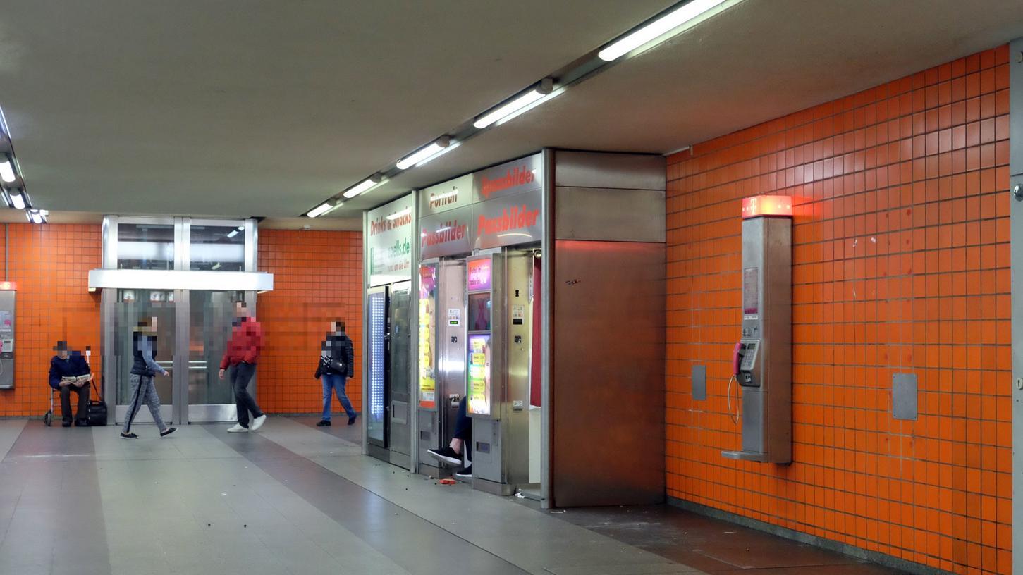 Die Königstorpassage bleibt ein Brennpunkt für die Nürnberger Polizei - auch weil sich hier ein Teil der Drogenszene trifft.
