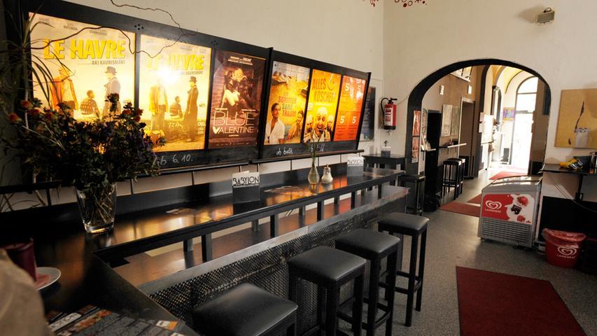 Vor dem Start des Metroplex-Kinos sind das Babylon und der Uferpalast die einzigen Kinos in Fürth.