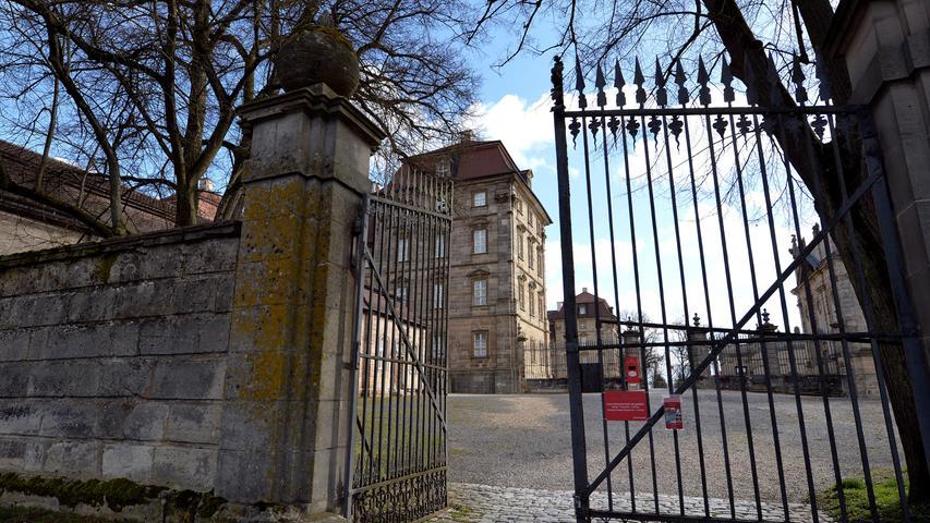 Frischekur für Schloss Weißenstein in Pommersfelden