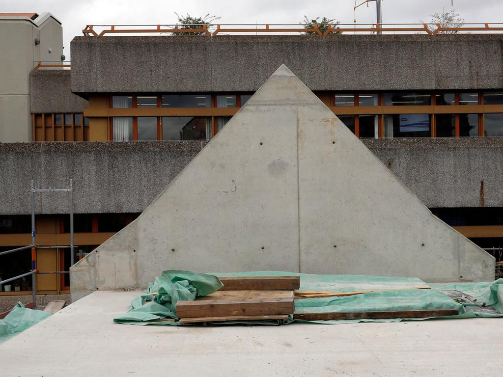 Nuernberg , 07.04.2016..Ressort: Lokales Fotografie: Stefan Hippel..Pellerhaus  Baustelle ,