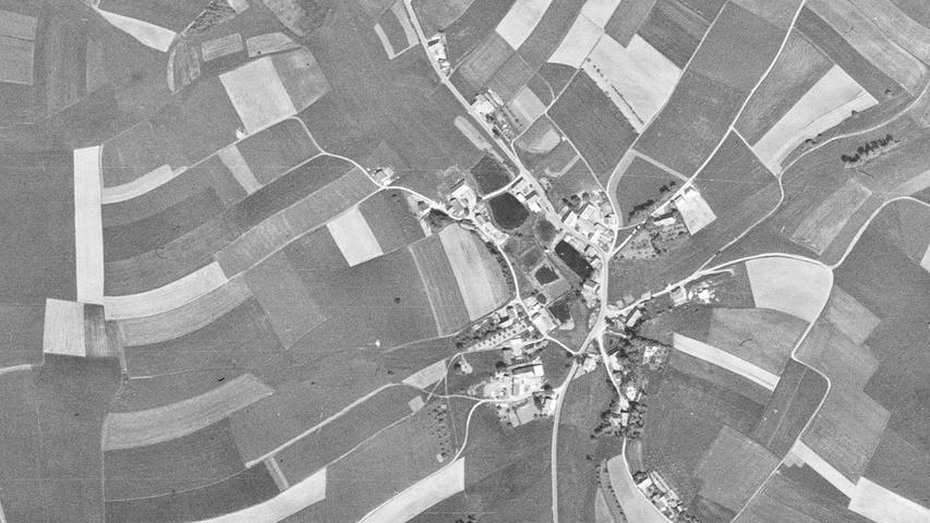 Im Jahr 1964: Dieser schöne Ortsteil ist natürlich …