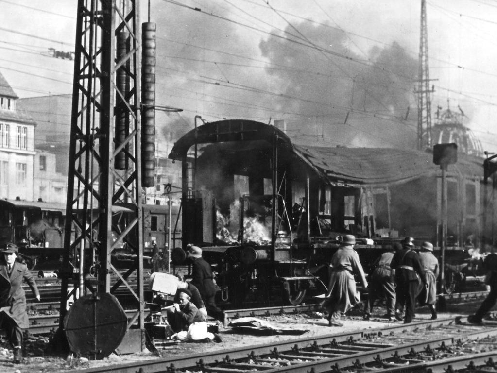 Auch als Kulisse diente der Hauptbahnhof - sogar für Hollywood: Für den Film