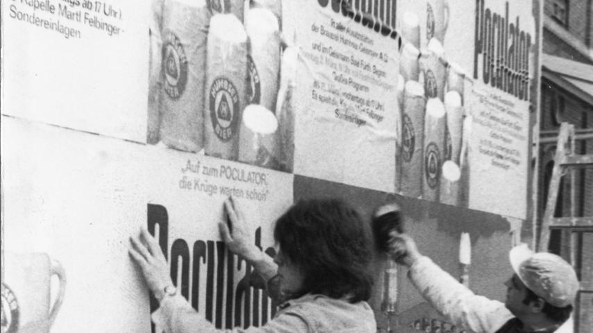 Werbung kann nie schaden. Das war wohl auch schon 1969 so.