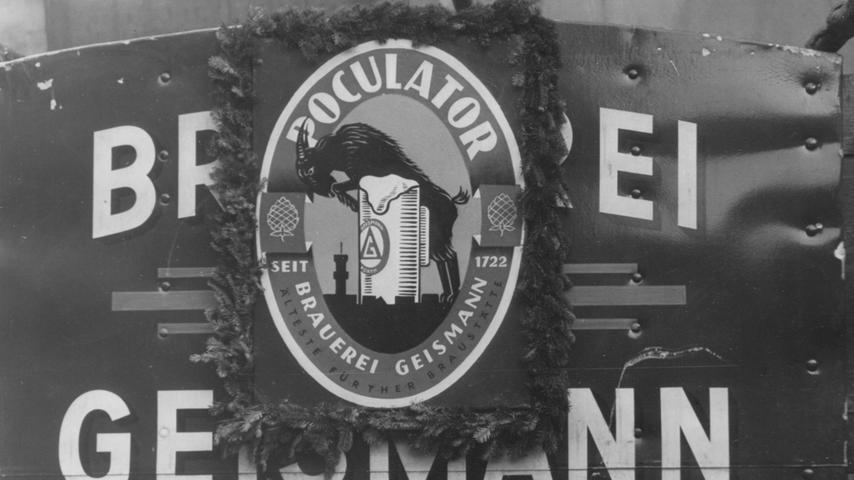 Der Poculator, ein Doppelbock-Starkbier, wurde erstmals 1884 gebraut. Bis 1913 war das Gebräu unter dem Namen