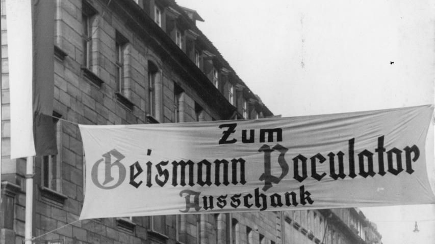 Die Brauerei Geismann war mit ihrer Gründung 1722 die älteste der