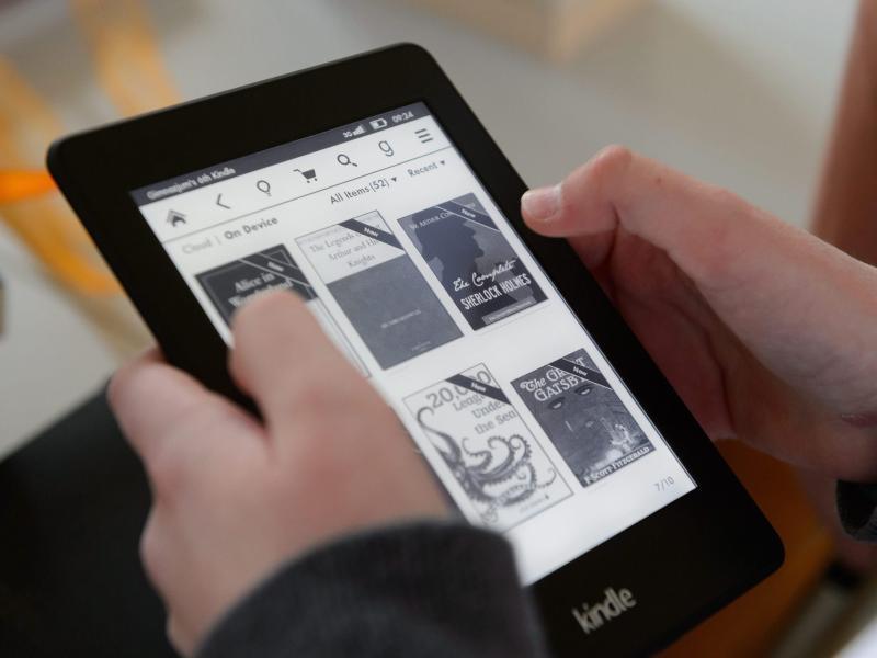 Amazons E-Book-Reader Kindle feierte vor acht Jahren seine Premiere.