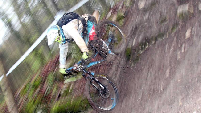 Enduro in Treuchtlingen: Große Schlammschlacht auf dem Mountainbike
