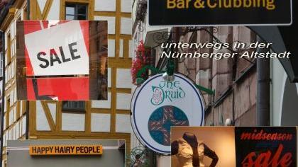 «Midseason Sale», «Bar & Clubbing», «Happy Hairy People»: Mit seiner Montage hat Gerhard Meyer aus Zirndorf den Denglisch-Fotowettbewerb gewonnen.