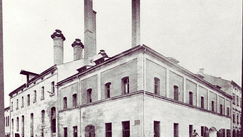 Während viele Erlanger Brauereien vor allem für den regionalen Markt produzierten, gab es vier große Betriebe, die fleißig exportierten. Darunter: die Erich Bräu.