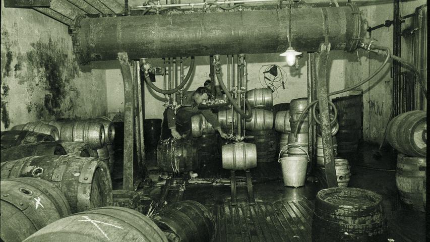 Nach dem Erwerb durch Franz Erich 1848 wuchs der Betrieb dank einer modernisierten Betriebsstätte zur 1869 bis 1874 größten Erlanger Exportbrauerei und überstand auch die nachfolgende Zeit rückläufiger Exporte.