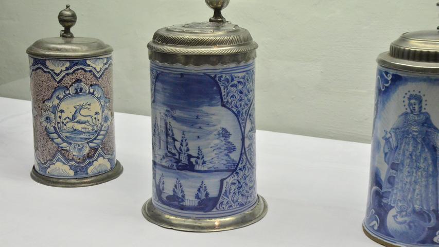 500 Jahre Reinheitsgebot:  Die schönsten Bierkrüge aus drei Jahrhunderten