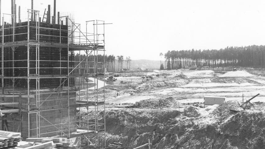 Die Igelsbach-Vorsperre folgte auf die Stauanlagen am Altmühl- und Brombachsee.