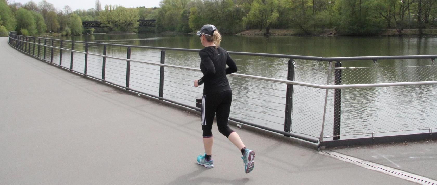 Das Ufer des Wöhrder Sees ist eine beliebte Jogging-Strecke, doch viele Frauen fühlen sich dort nicht mehr sicher.