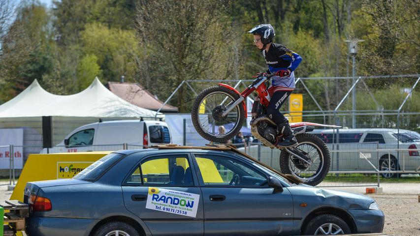 Rund ums Rad: Die große Autoschau im Rother Stadtgarten