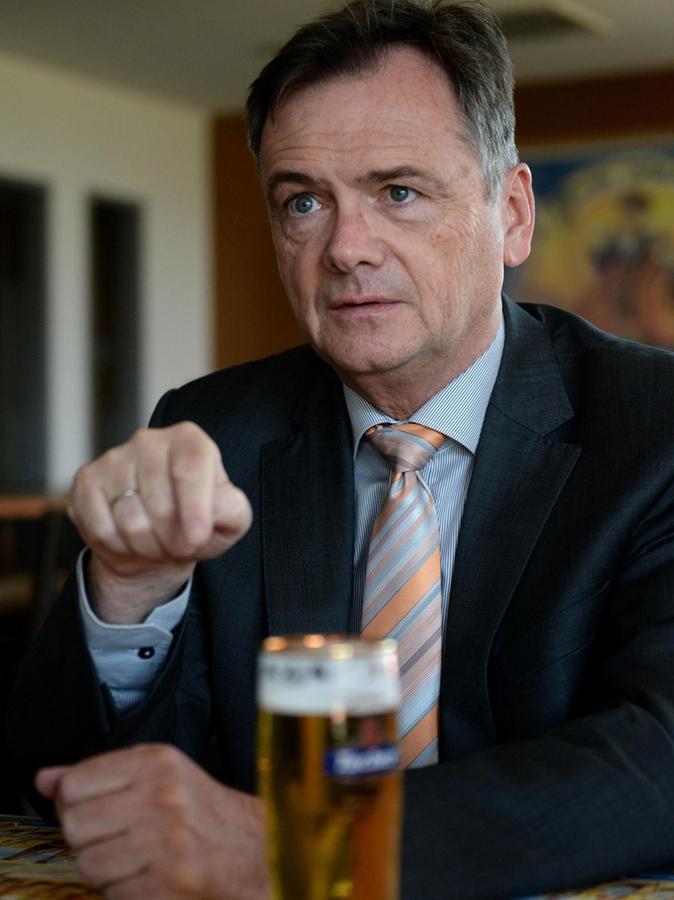 """""""Die Menschen suchen einen Anker in der Region"""": Tucher-Chef Fred Höfler."""