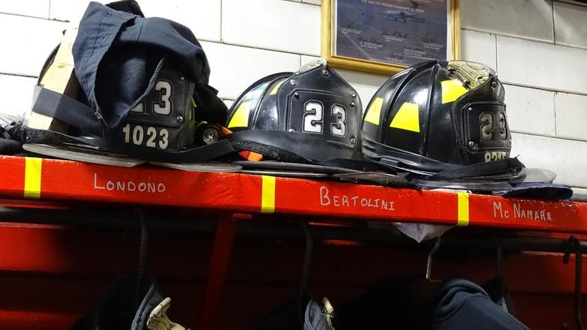 So sieht die typische amerikanische Feuerwehrausrüstung aus.
