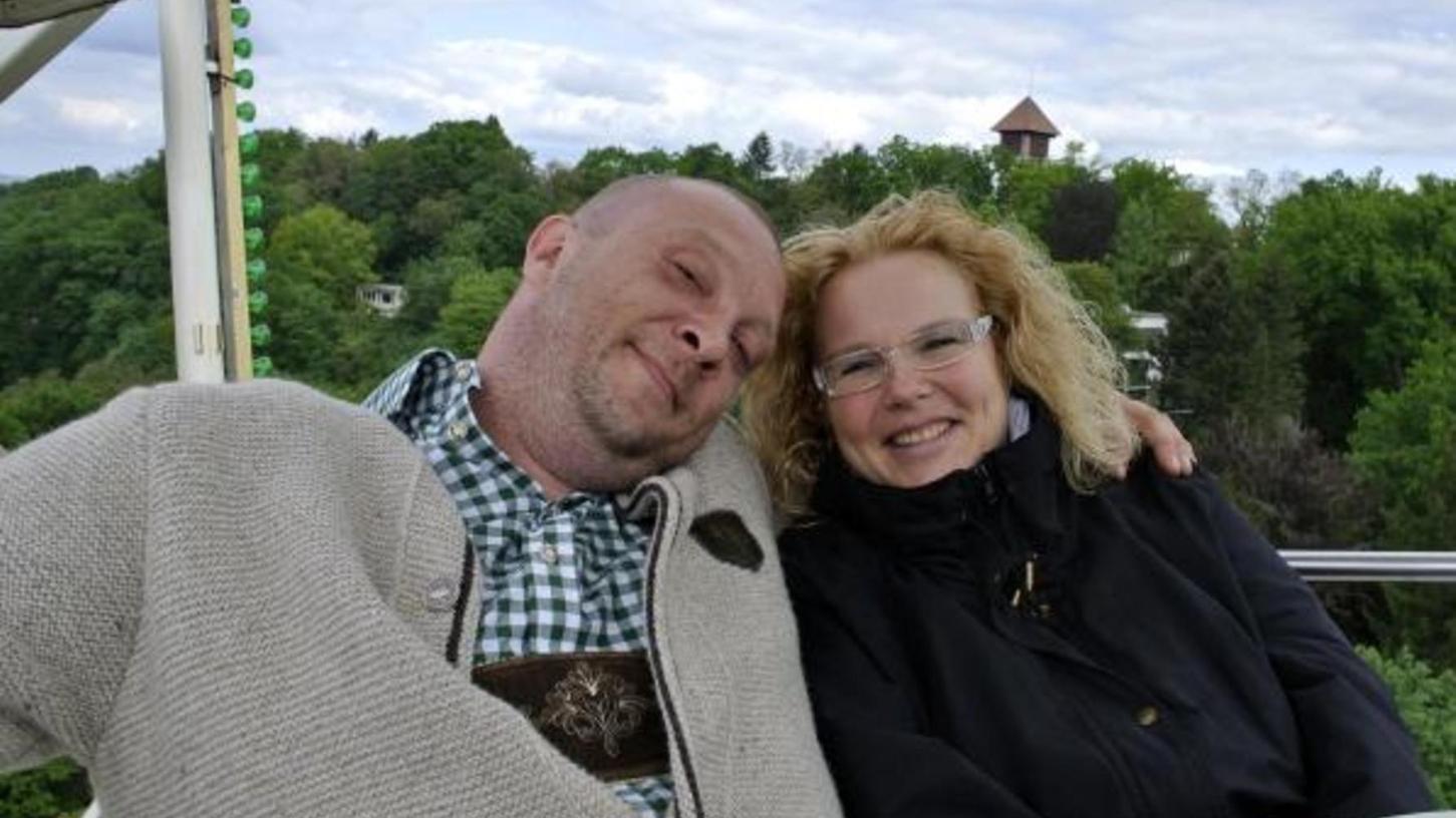 Daniela und Christian Stenz haben 2015 am Berg geheiratet.