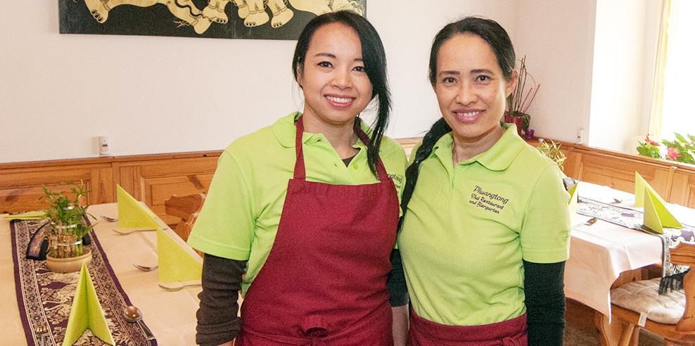 Kommt gut an: Das Thai-Restaurant Phuangtong in Hohenschwärz.