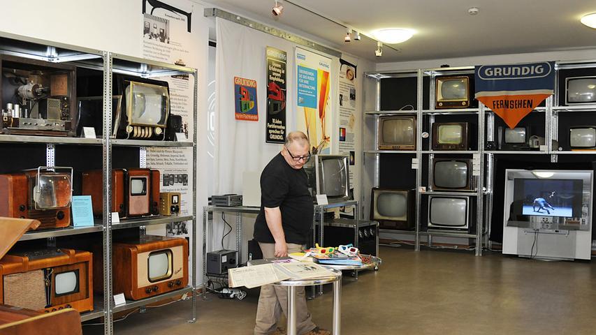 Redaktion: Fürth..Fotograf: Athina Tsimplostefanaki..Motiv: Internationaler Museumstag.Rundfunkmuseum in Fürth..Datum:22.05.2016