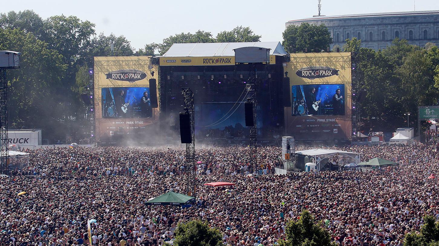 Rock im Park hat bei den letzten Ausgaben jeweils über 70.000 Besucher angezogen.