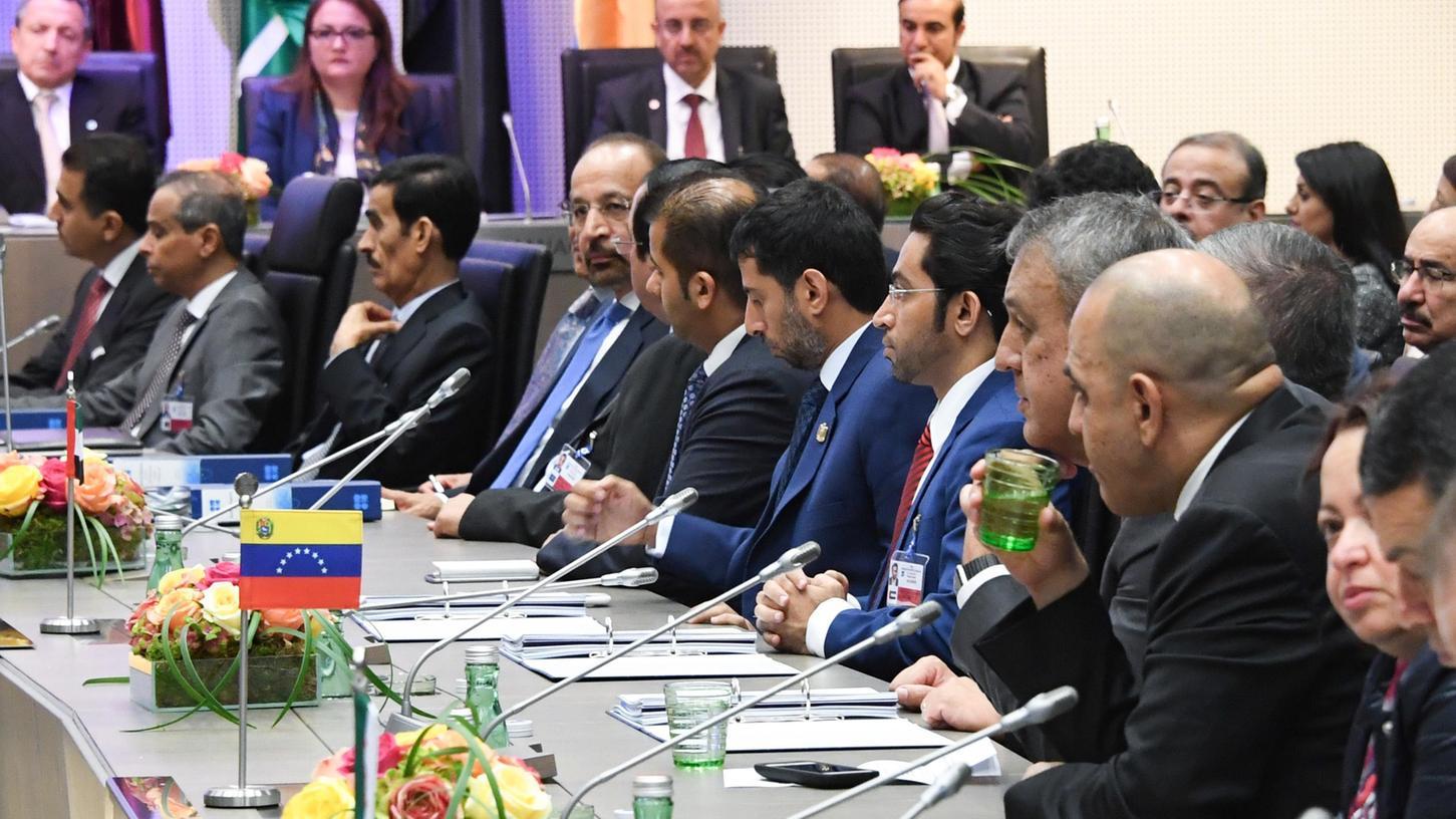 Die Vertreter der OPEC-Staaten sowie der EZB-Rat kommen am Donnnerstag zu einem Treffen in Wien zusammen.