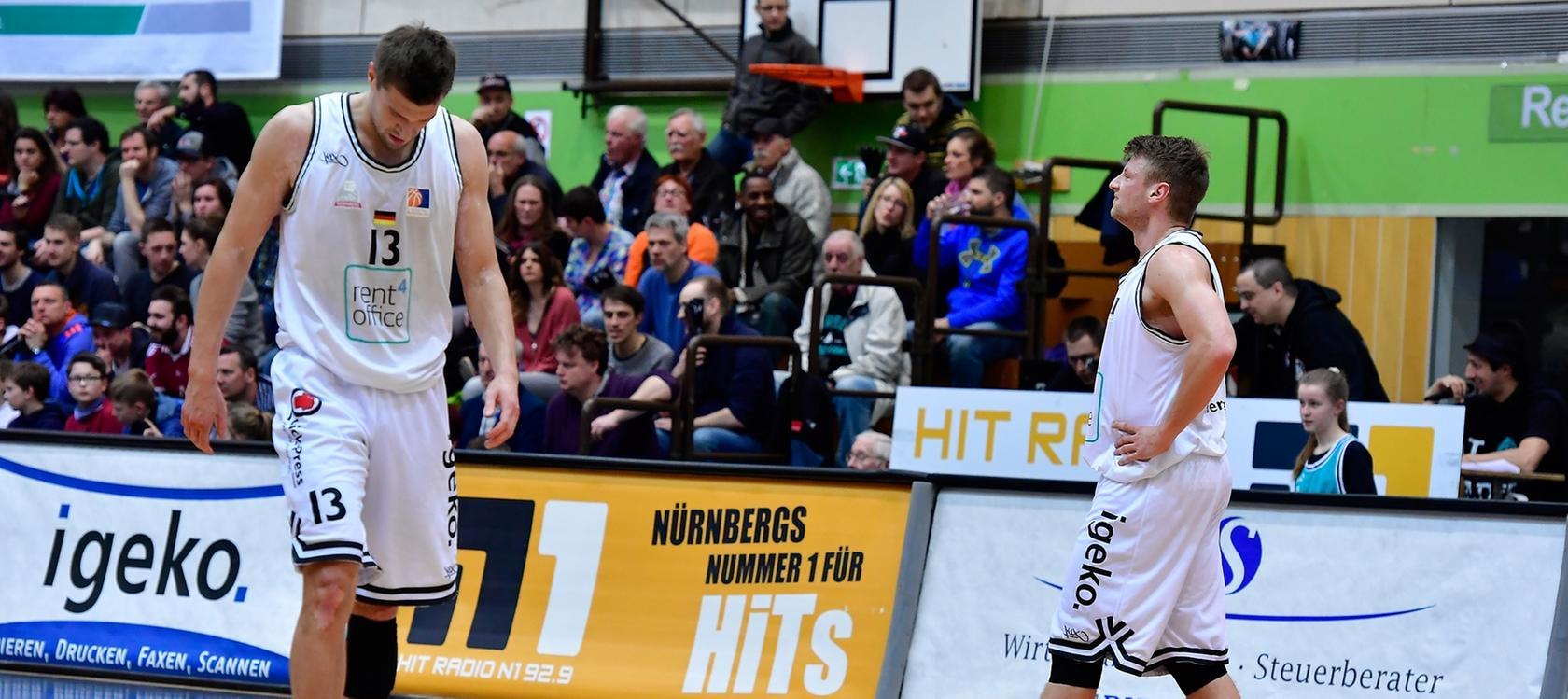 Rent4office Nürnberg steht vor dem Aus! Die Spieler nahmen diese Nachricht mit Fassungslosigkeit auf.