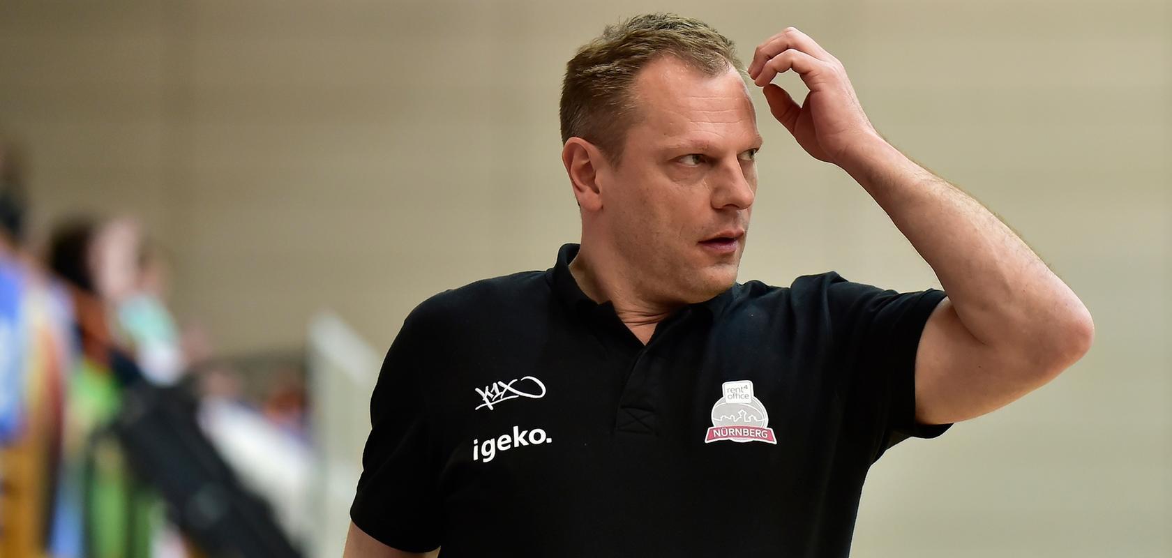Hat mit rent4office noch lange nicht abgeschlossen: Trainer und Sportdirektor Ralph Junge