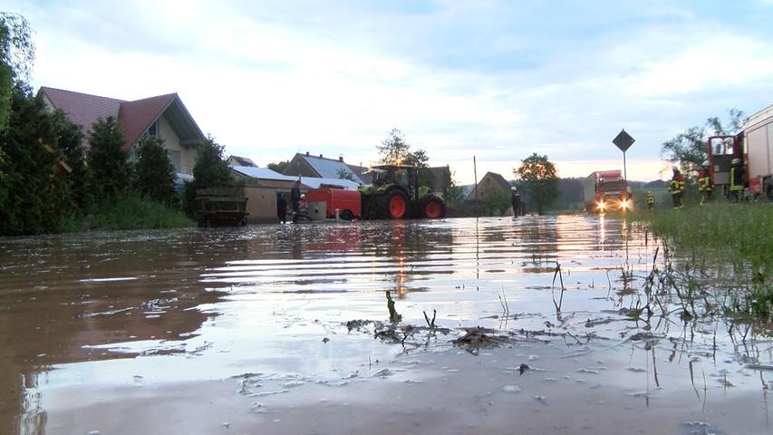 Die Folgen der Überschwemmungen werden sich erst nach und nach zeigen.