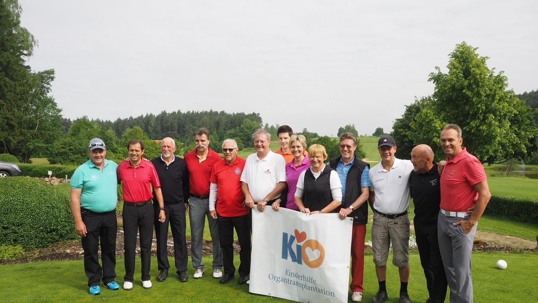 Bekannte Sportler wie Heiner Brand Georg Volker spielten Golf