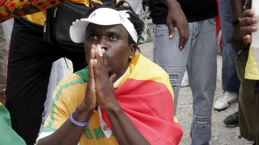 RESSORT: Lokales / Politik..DATUM: 22.06.06..FOTO: Michael Matejka ..MOTIV: WM-Spiel: USA - Ghana..