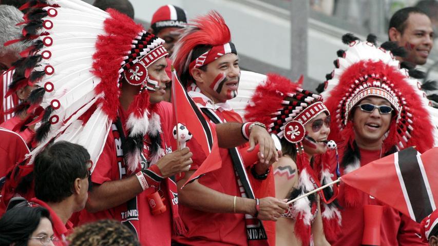 Foto: Eduard Weigert..WM 2006 WMNürnberg..England - Trinidad..Fans TT