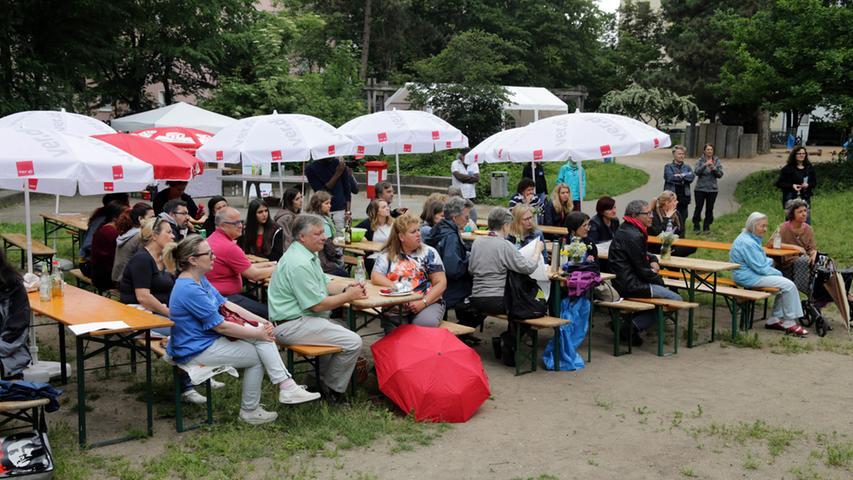 Motiv: Stadtteilpicknick Hummelstein.. ....Datum: 12.06.2016.. ..Fotograf:  Roland Fengler....Ressort: Lokales ....Exklusiv