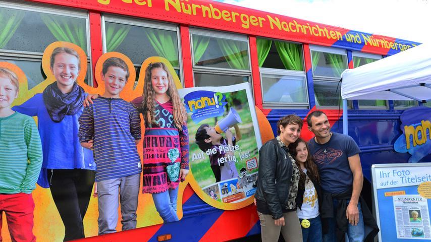 Kunterbunt und akrobatisch: Das NN-Kinderland in Neumarkt
