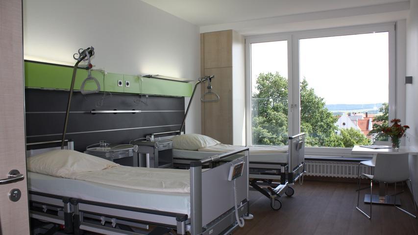 Helle und frische Atmosphäre im Krankenhaus