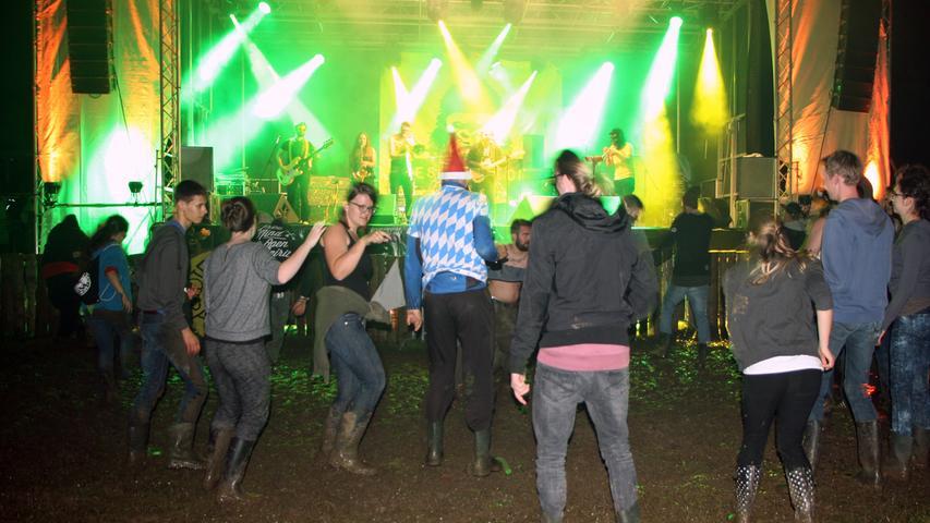 Woodstock-Feeling in der Döckinger Heide