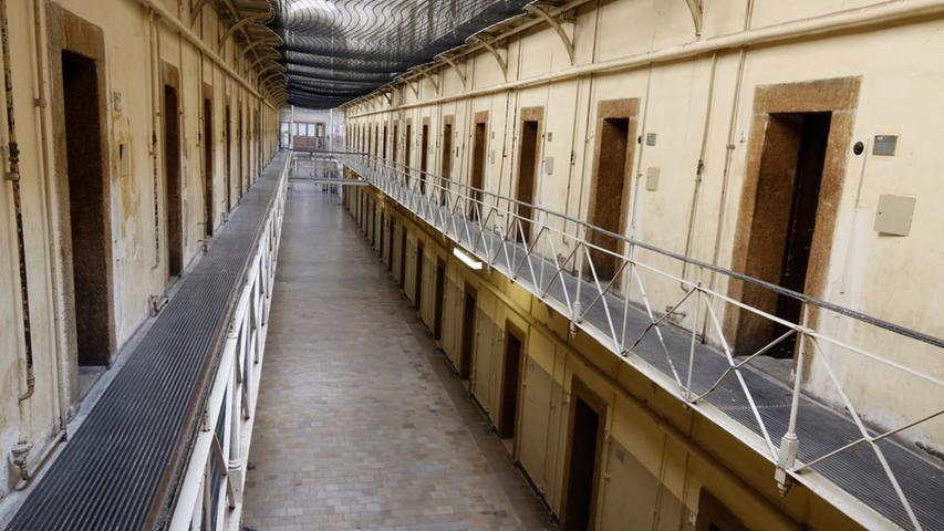 Das Zellengefängnis Nürnberg wurde in der zweiten Hälfte des 19. Jahrhunderts gebaut, heute wird es nur noch als Filmkulisse genutzt.