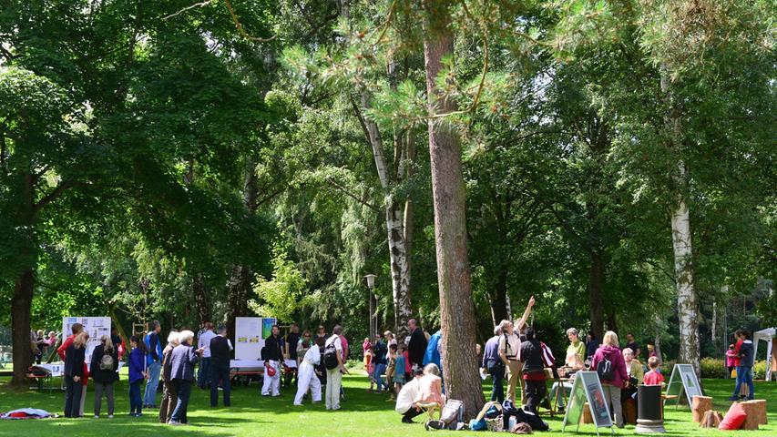 Die Freizeitgemeinschaft Siemens hat ihr 60-jähriges Bestehen gefeiert. Den zahlreichen Gästen wurde ein umfangreiches Mitmachprogramm geboten..Foto: Klaus-Dieter Schreiter
