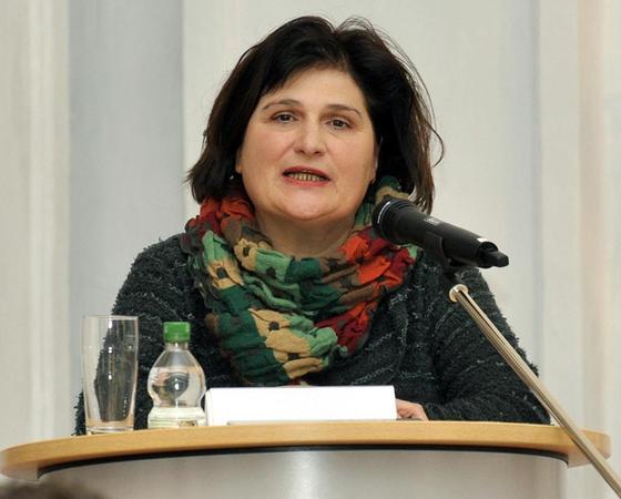 Ist für die Abteilung Christliche Publizistik zuständig: die Professorin Johanna Haberer.