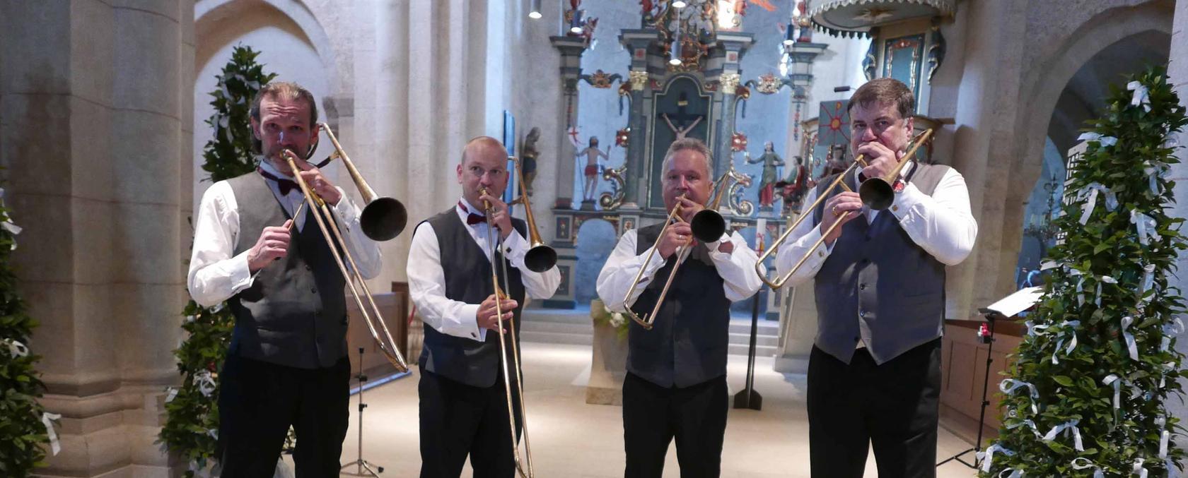 Dr. Jörg Richter, Dirk Lehmann (vom Gewandhausorchester Leipzig) sowie die weiteren freiberuflichen