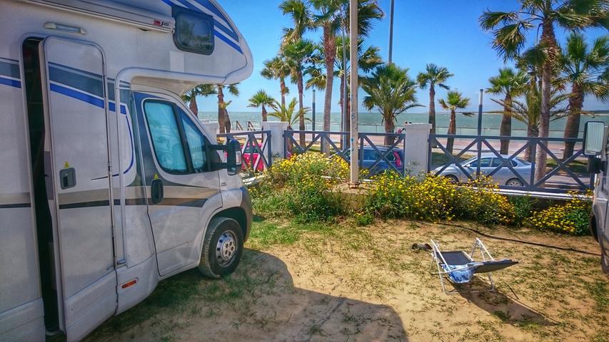Mit dem Wohnmobil durch Andalusien