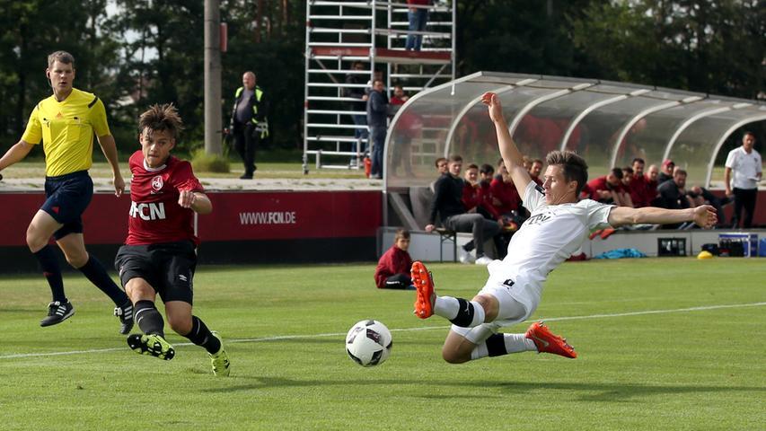 Viertes Spiel, vierter Sieg: Club-Torgaranten treffen gegen Zwickau