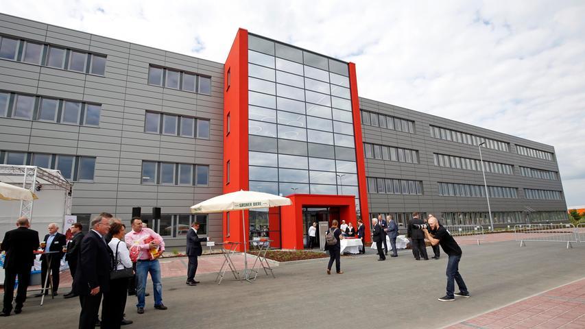 Großer Festakt: Norma feiert die neue Firmenzentrale in Fürth