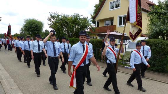 125 Jahre Freiwillige Feuerwehr Polsingen: Impressionen vom Festumzug