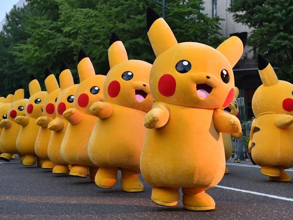 Pikachu-Parade Spiele-Apps Pokémon Go