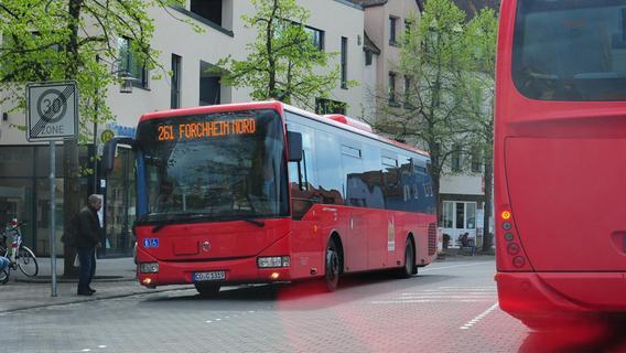 Öffentlicher Nahverkehr in Forchheim: Er trägt auch zum Klimaschutz bei. Und soll das künftig noch mehr tun.