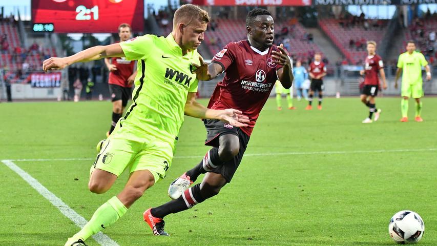 Zwei Club-Knipser - einer aus Kamerum und einer aus Kärnten - sorgten beim 2:1-Sieg gegen klassenhöhere Augsburger dafür,...