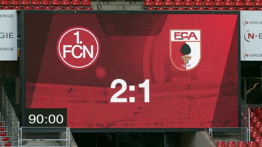 ...man beim FCN damit hochzufrieden, was nach 90 Minuten als Ergebnis von der Anzeigetrafel prangte. Am Samstag in Dresden, wenn es für Nürnberg in der ersten der 34 Zweitliga-Runden richtig ernst wird, würde sich der Club über das gleiche Ergebnis zu seinen Gunsten sicher ebenfalls freuen.