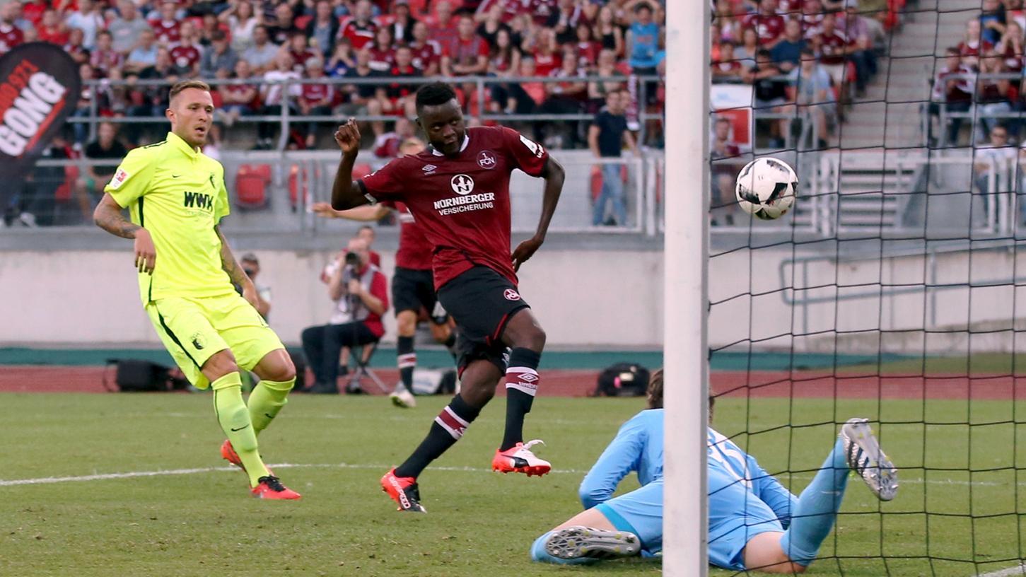 Der geht rein! Edgar Salli hat sich beim 1. FC Nürnberg gut eingefügt.